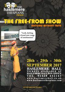 Thursday 28th - Saturday 30th September @ 7:30PM