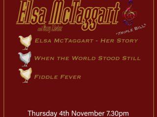 Thursday 4th November @ 7:30PM